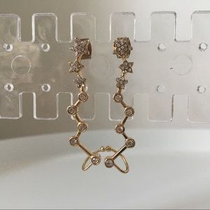 Sugarfix by baublebar gold star ear crawlers